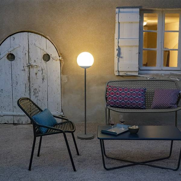Fermob Mooon Floor Lamp 134 Cm Outdoor Lighting Jardin Nz Contemporary Outdoor Furniture Fermob Outdoor Furniture Collections