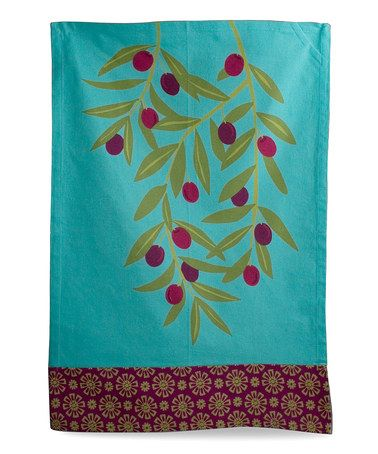 Take A Look At This Olive Branch Jardin Dish Towel By Tag On