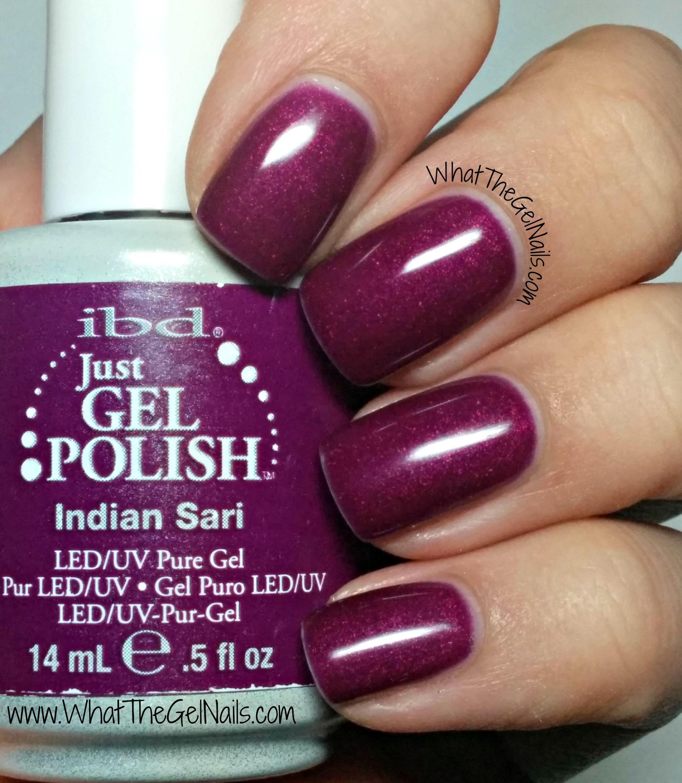 IBD Indian Sari, plus more IBD Just Gel nail colors. | IBD Just Gel ...