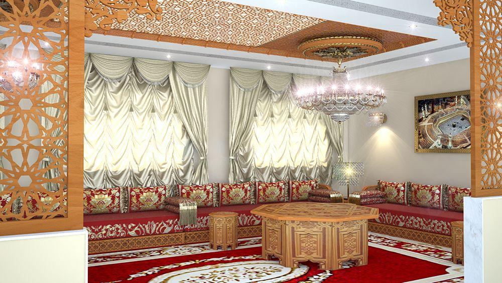 Salons Marocains Archives - Espace Deco | Bois | Bedroom decor ...