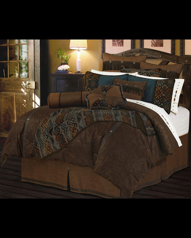 Del Rio 5 Piece Comforter Set Super Queen www