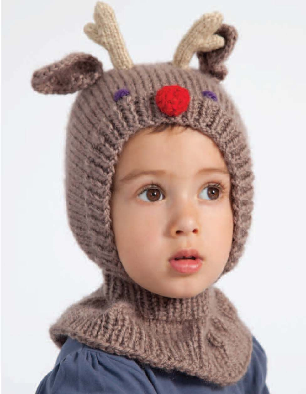 Dearest Reindeer hat from Adorable Animal Knits for Little People by Nuriya  Khegay www.searchpress.com book 9781844489718 adorable-animal-knits-for-little-  ... a8c375b2d4b1