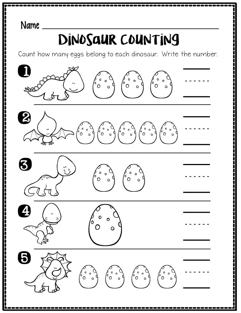 6 Counting and Number Recognition Worksheets in 2020   Handwriting  worksheets for kids [ 1056 x 816 Pixel ]