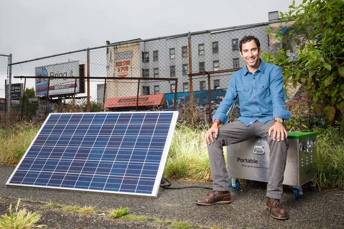 Portable Electric Powers Almost Anything Electric Power Electricity Solar Power
