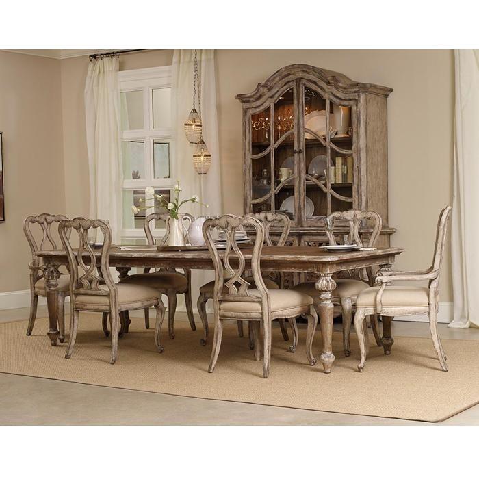 8Piece Chatelet Dining Set and China Cabinet Nebraska Furniture