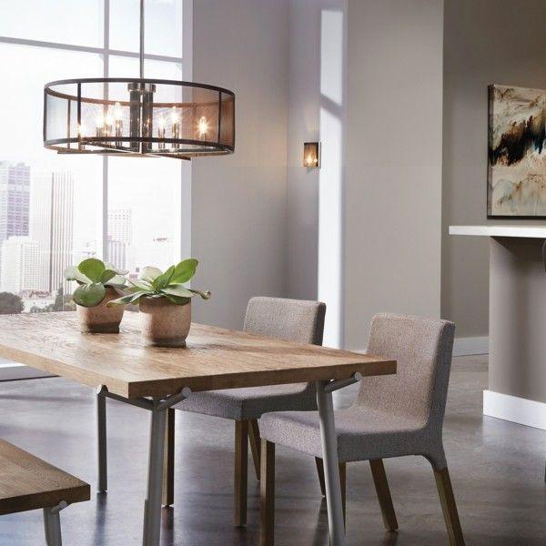 esszimmermöbel holz moderner look neutrale farben Esszimmer