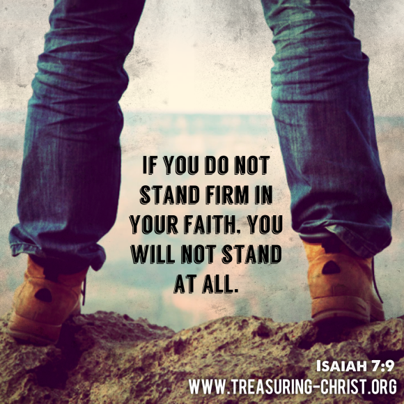 Image result for standing firm in faith