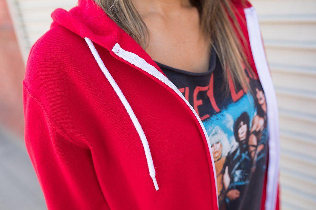 Afx90unz unisex zip hooded sweatshirt independent