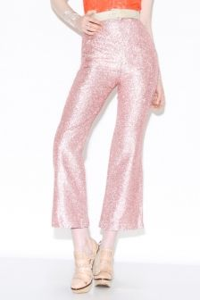 Shop Vintage | 1960s Metallic Pink Pants | Thrifted & Modern