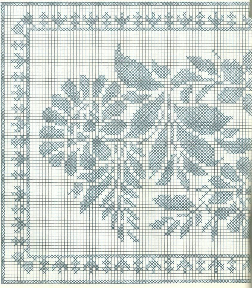 Filet crochet | Ganchillo | Pinterest | Enganchados, Ganchillo y Paños