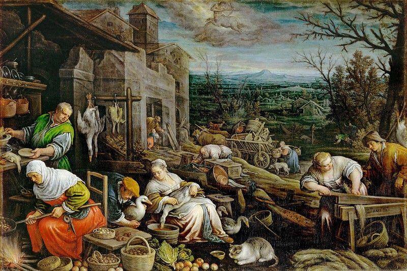 Peasants harvesting grain. Trevilian Miscellaney, 1602 ...  |16th Century Peasant Life