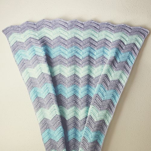 Chevron Baby Blanket Crochet Pattern Free Pattern My Go To Ripple