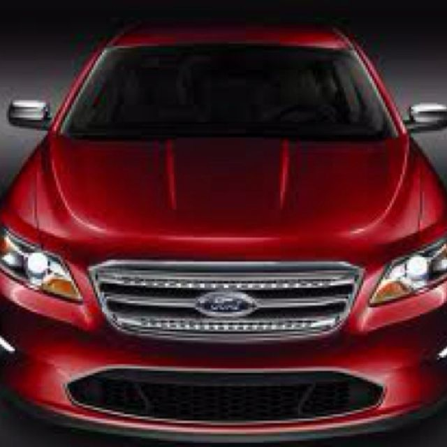 2011 Ford Taurus Limited Candy Apple Red Love My Car Ford Taurus Candy Apple Red