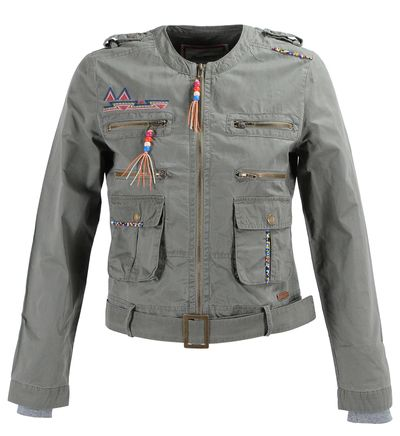 Jeans Vert En Galeries Pepe Glastonbury Veste Lafayette xqRw1EqIt