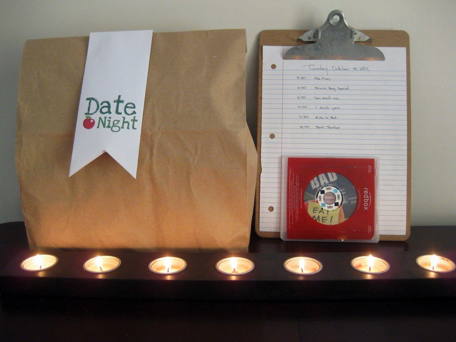 Beginner Beans Brown Bag Date Night Date