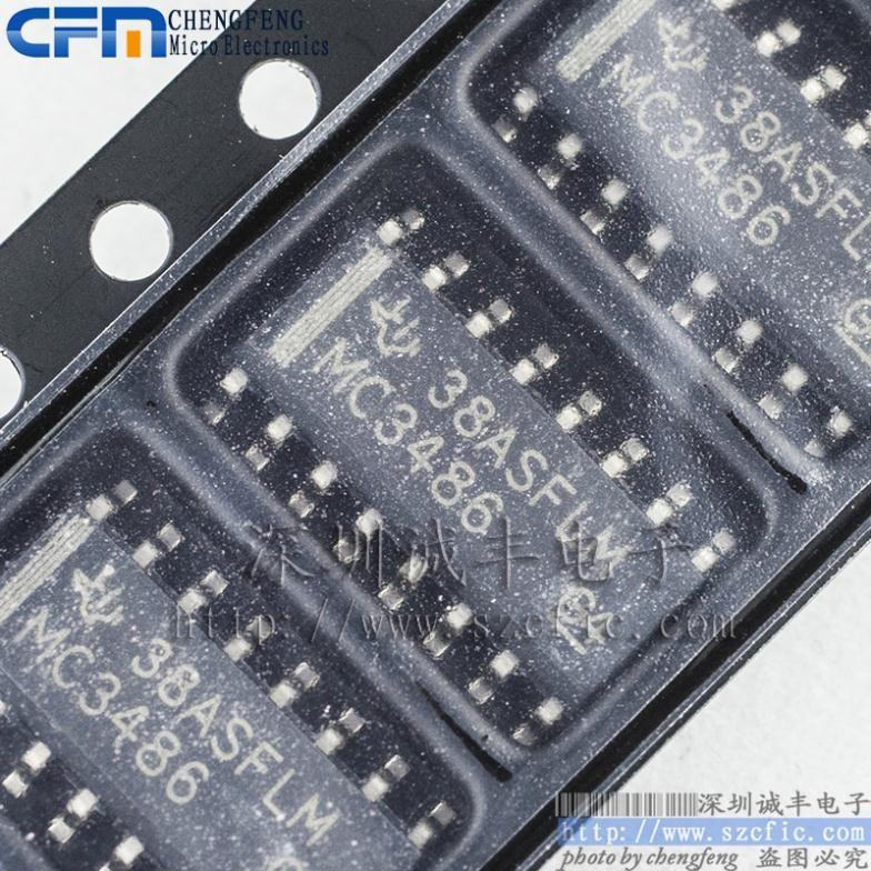 Module MC3486 MC3486DR MC3486TI SOP Original authentic and new - free sop