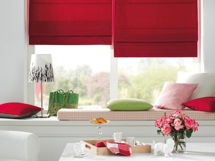 M s de 25 ideas nicas sobre como hacer cortinas romanas - Como confeccionar estores ...
