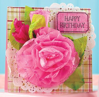 Flower Birthday Card by @Becky Hui Chan Garrison