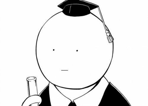 Koro sensei white face
