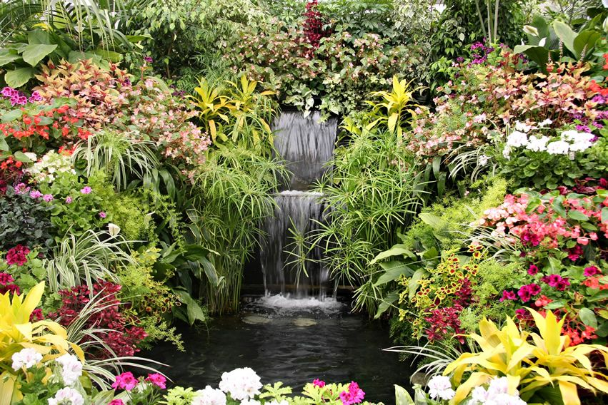 57 Garden Water Feature Designs