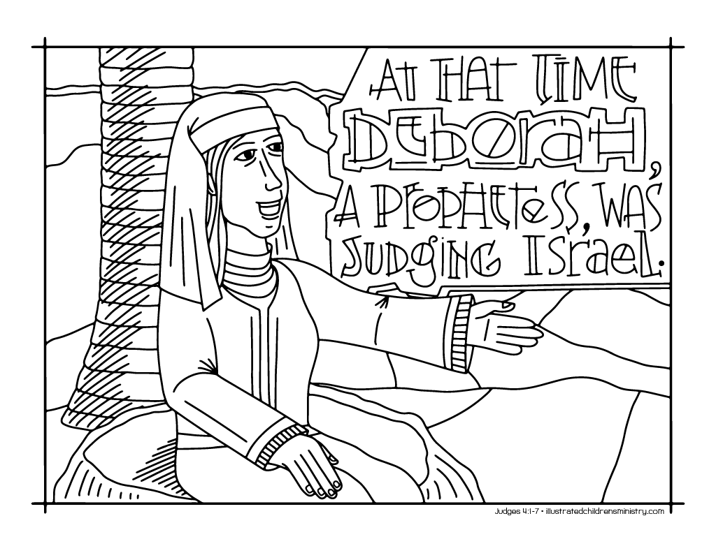 Bible Story Coloring Pages Fall