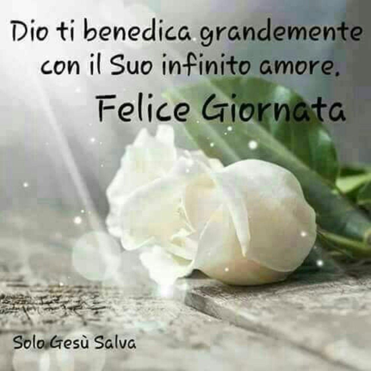 Felice Giornata Dio Ti Benedica Italian