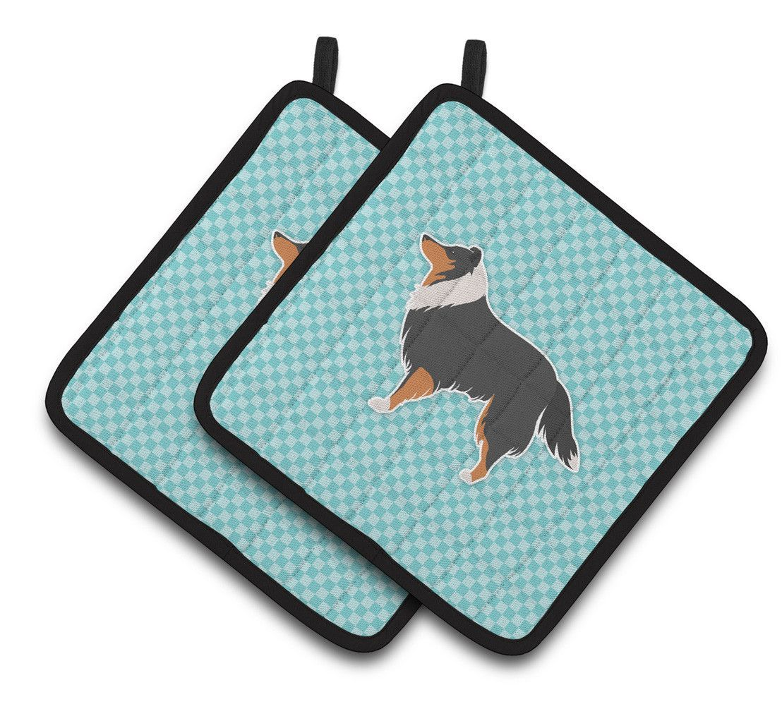 Design Imports Terry Potholder Set Of 3 Pot Holders Irish Setter The Fox The Hound