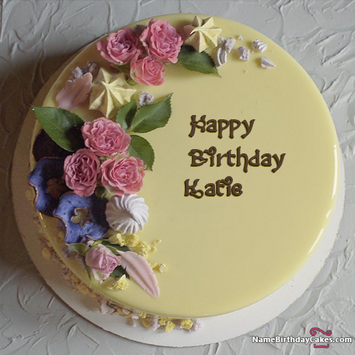 Happy Birthday Katie - Video And Images