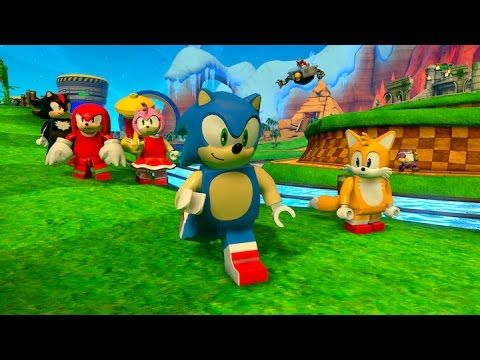 Lego Dimensions Sonic The Hedgehog Level Pack Trailer Lego Dimensions Lego Games Lego