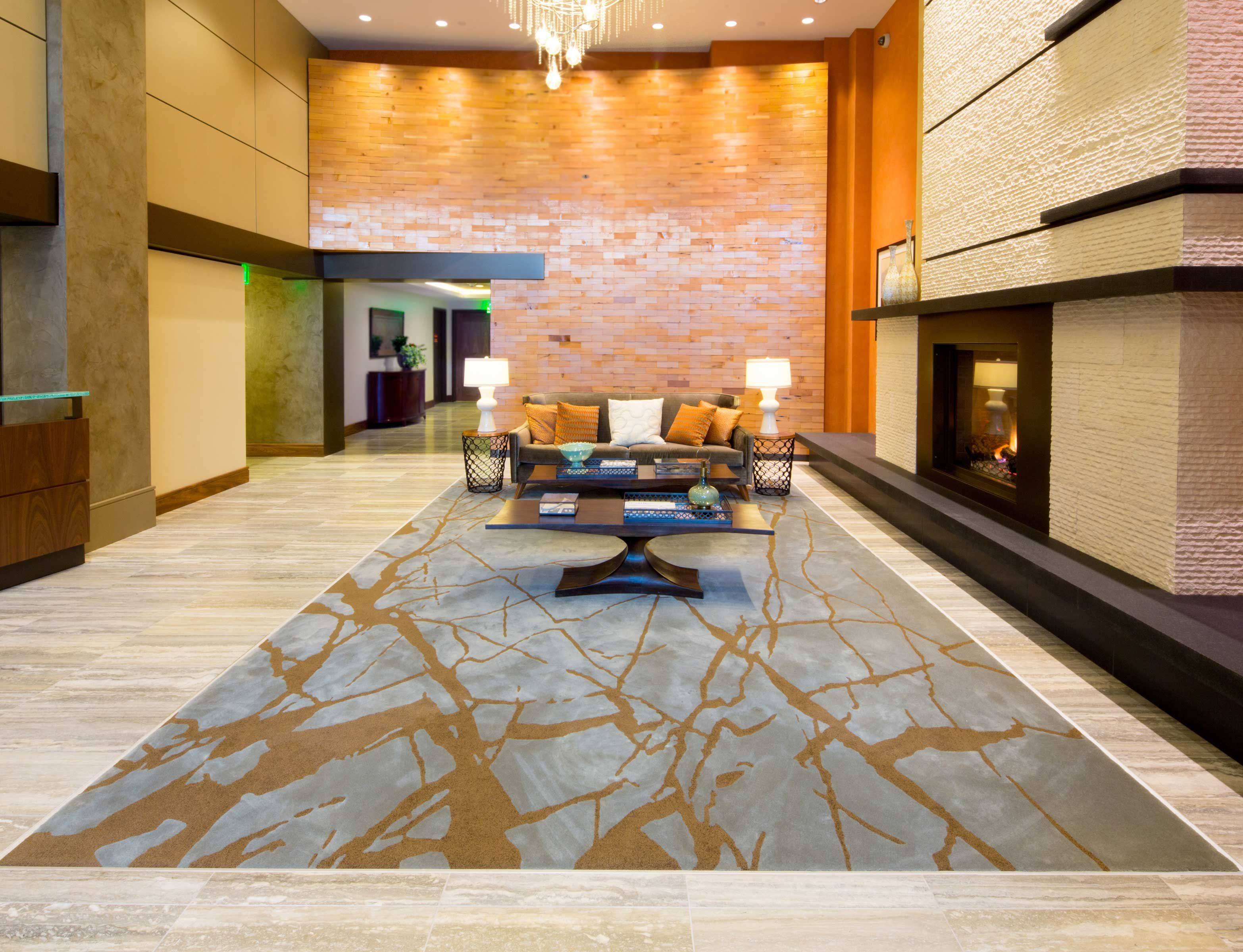 Custom Rug From Masland Contract At Coppins Well In Seattle Wa