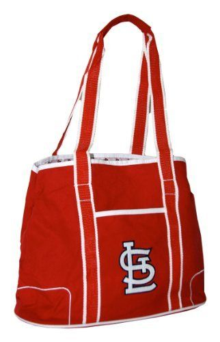 Mlb St Louis Cardinals Hampton Tote Red By Concept 1 25 00 Interior Zippered Pocket Felt Lique Main Logo And A Lining