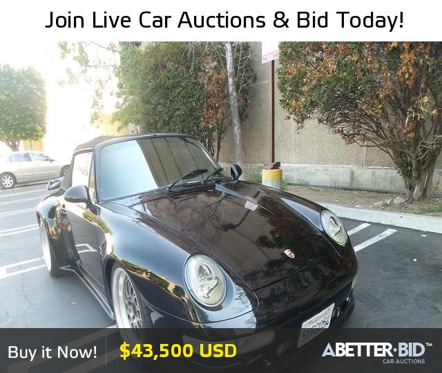 Salvage 1989 PORSCHE 911 For Sale