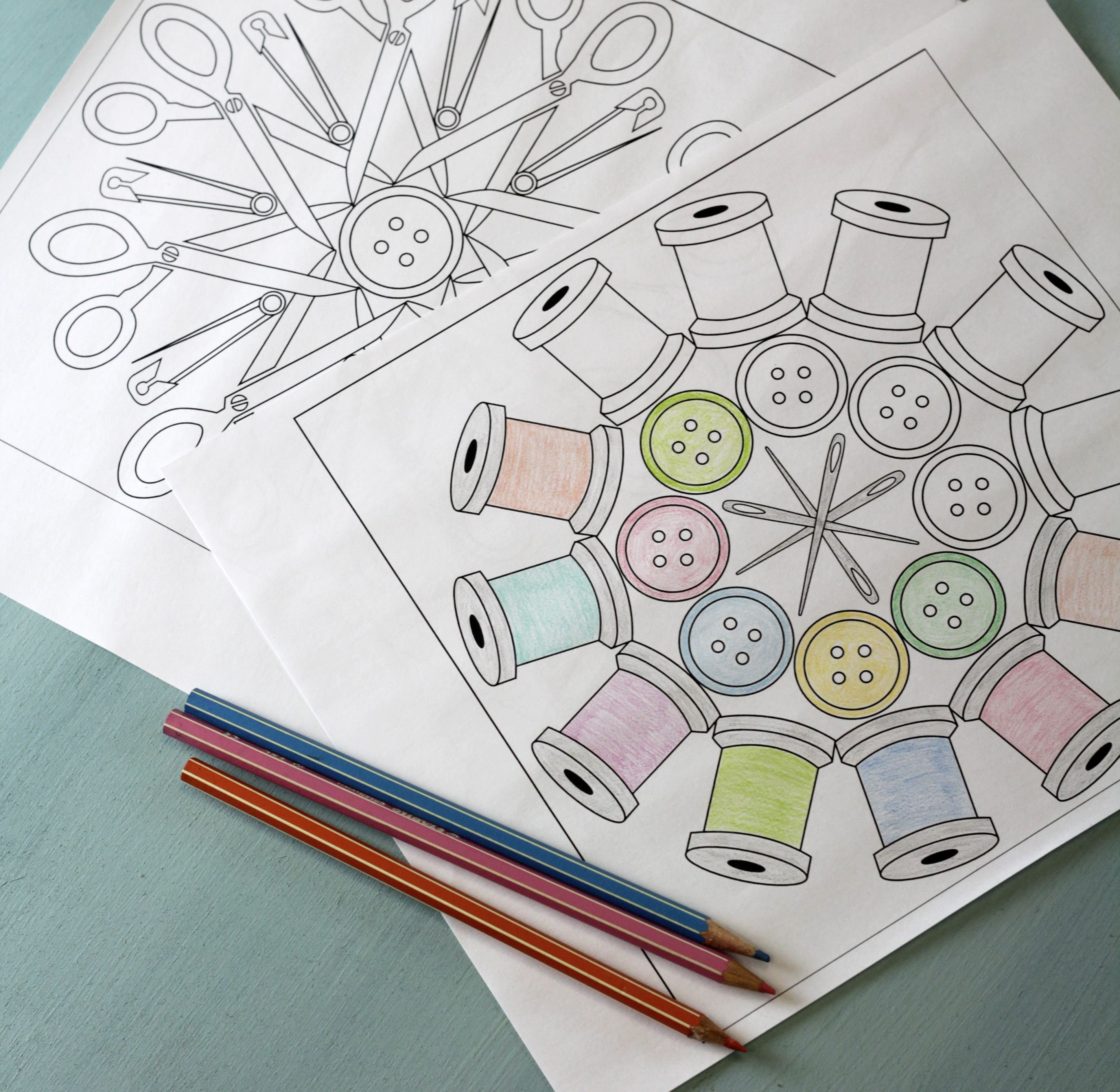 Adults and coloring books - Coloring Book Pages Adults Will Love Make It Yourself
