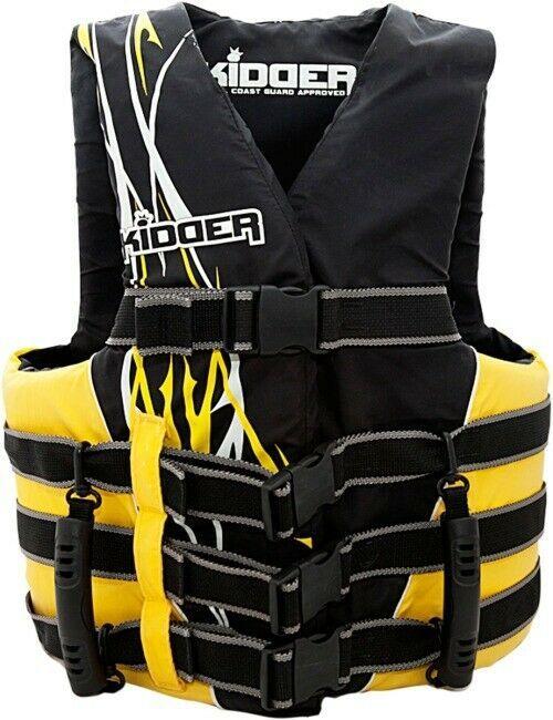 Hardline Life Jacket Vest PFD Comfort Grip Handles PWC Passenger Riding