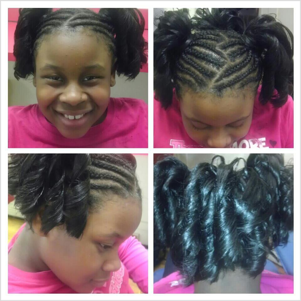 Enjoyable Beautiful Kid And Black Child On Pinterest Hairstyles For Women Draintrainus