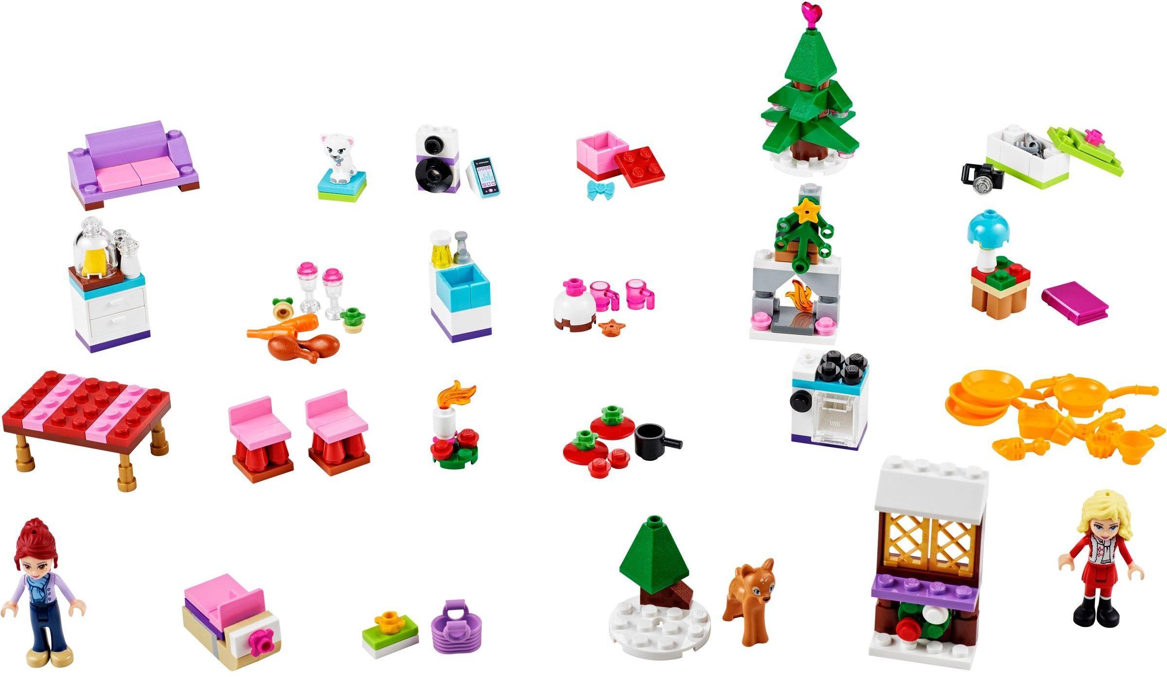 41040 1 Friends Advent Calendar Lego Ideas Mocs Figures And