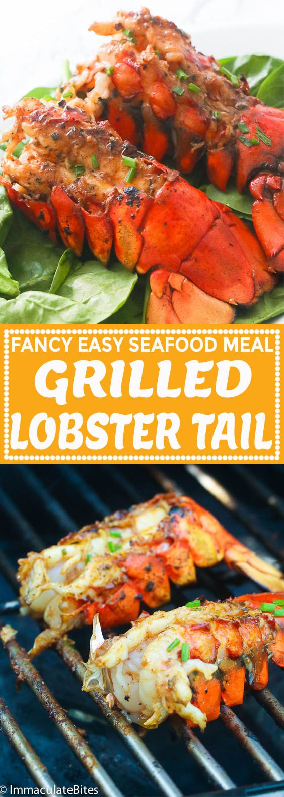 Grilled Lobster Tail - Immaculate Bites