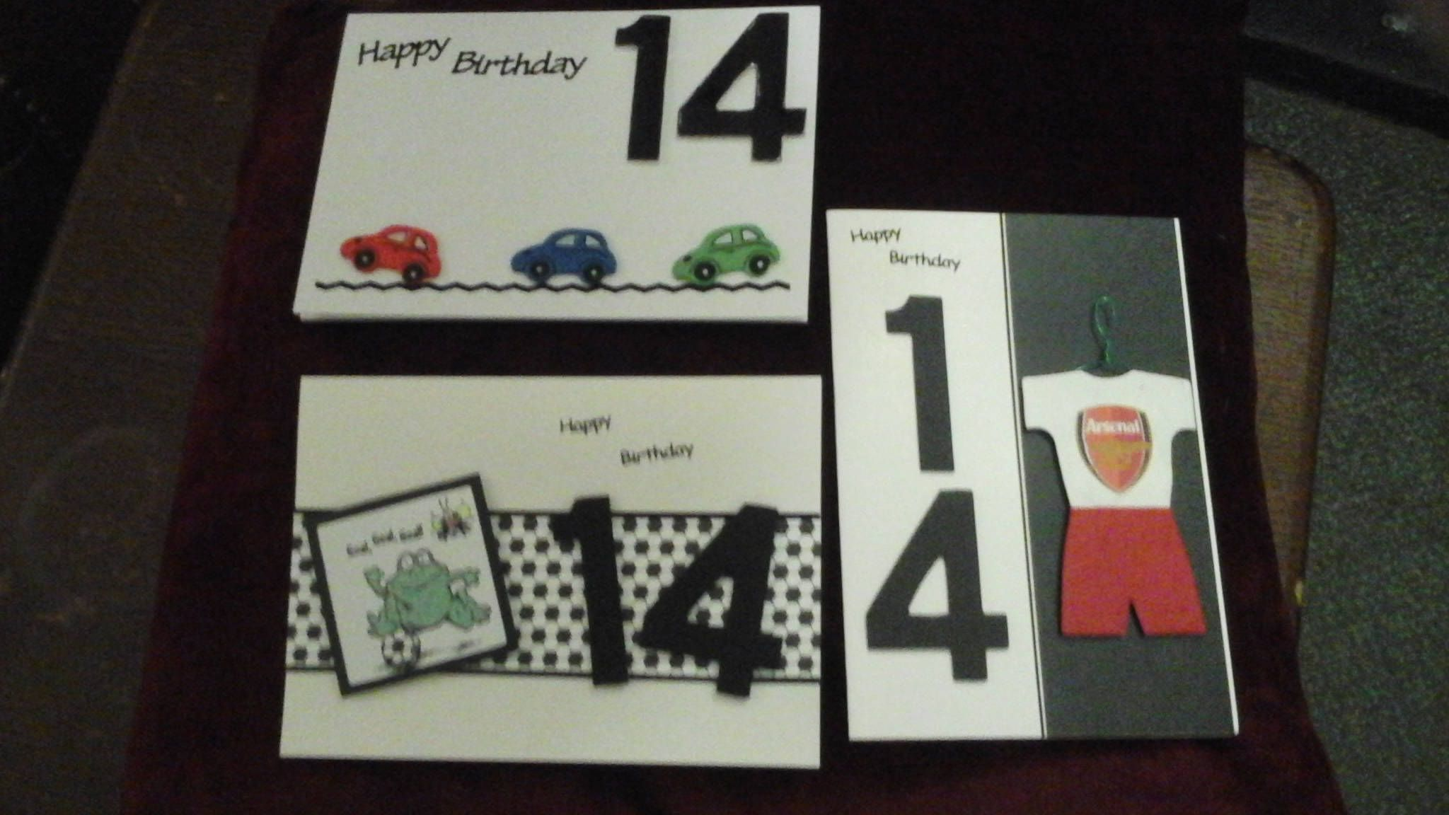 14 Year Old Birthday Card By Crazyladysemporium On Etsy Handmade