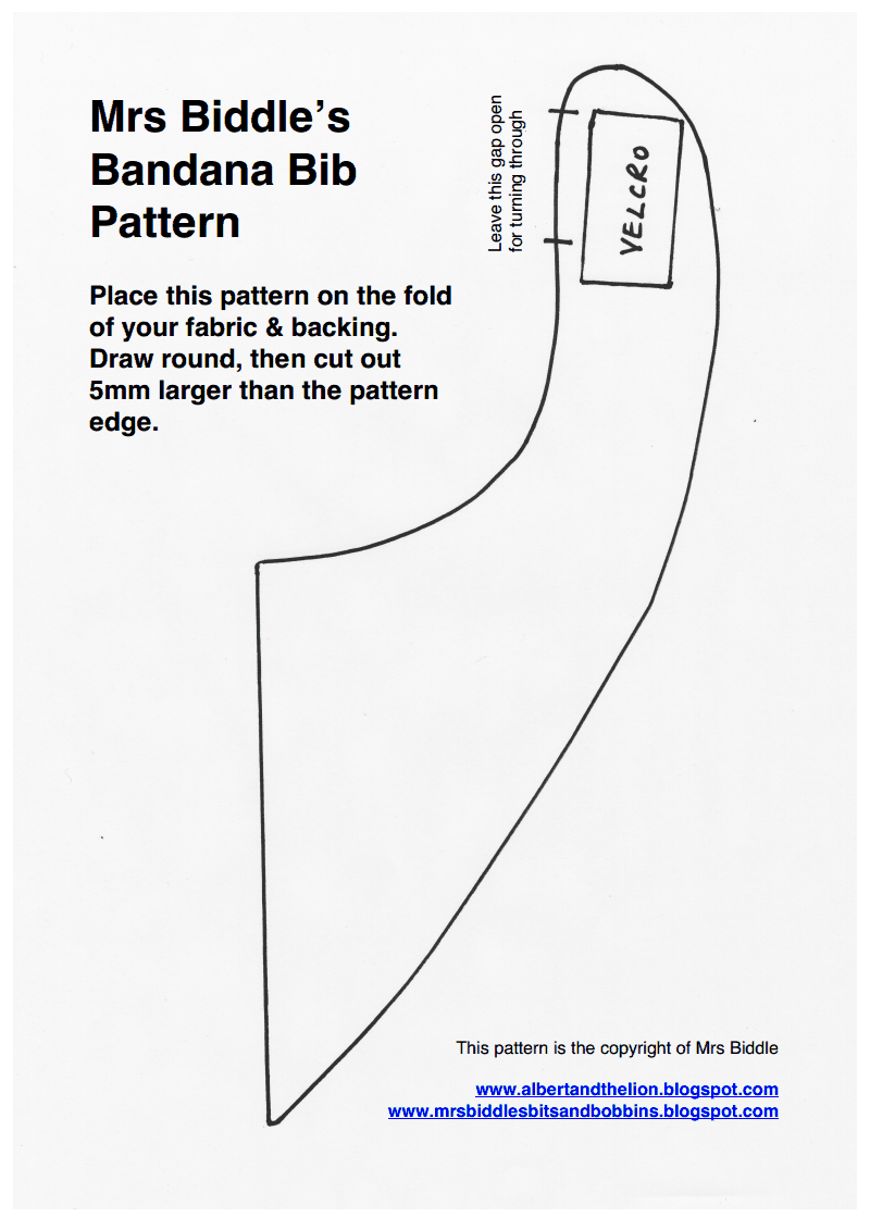 Biddle Bandana Bib Pattern.pdf - Google Drive | Boys | Pinterest ...