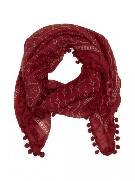 Echarpe avec motifs groseille - ceintures femme - naf naf   Stitch ... 2e19292d5fd