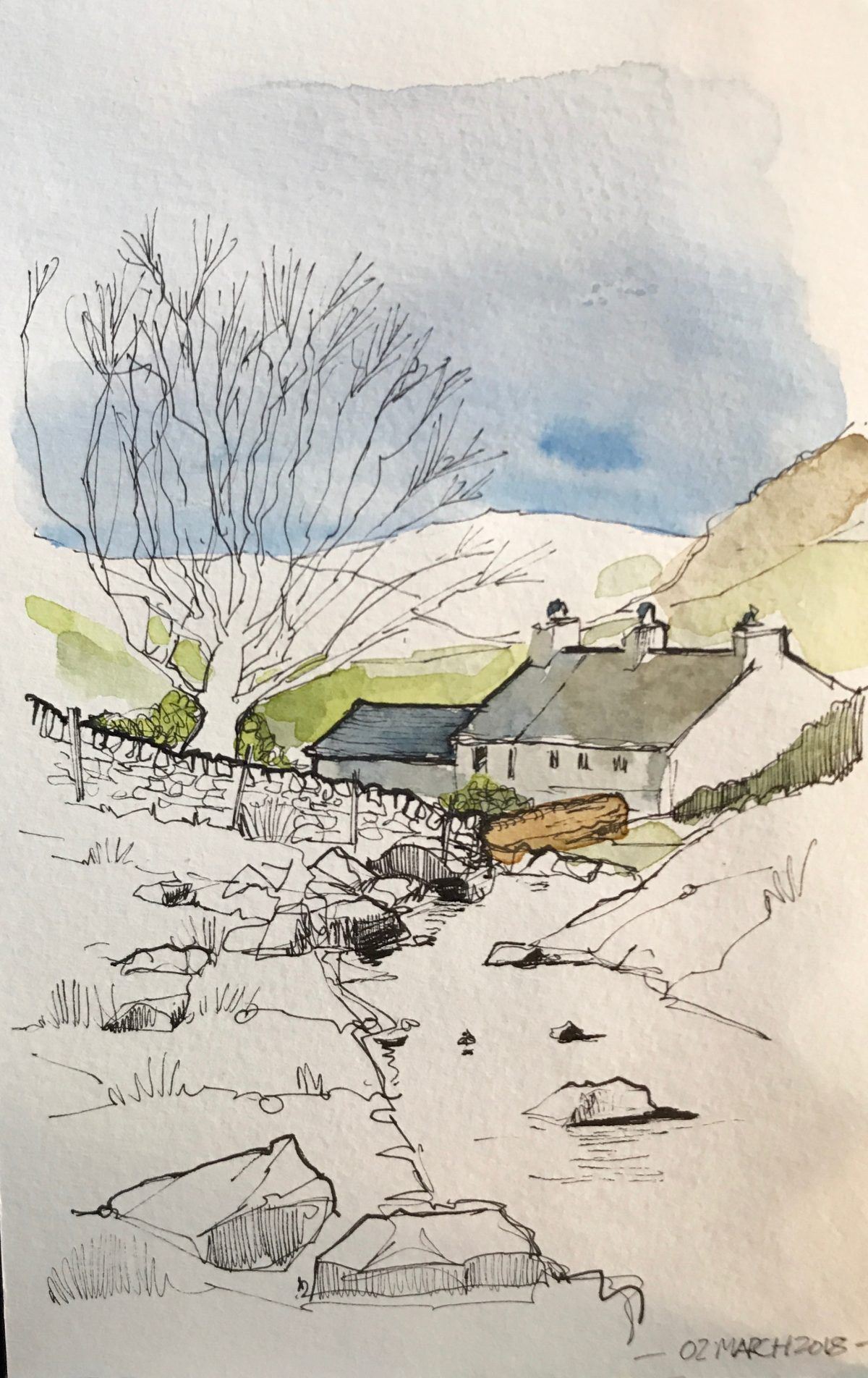 From My Sketchbooks Drawn In Yorkshire Watercolorarts