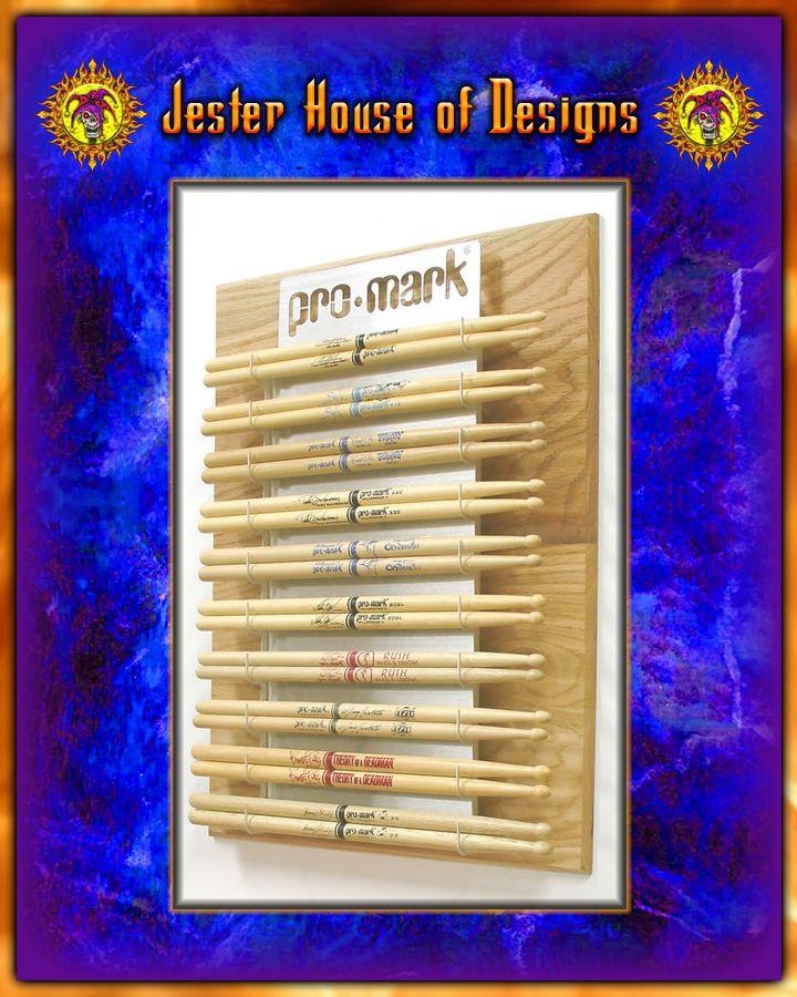 custom drumstick wall display custom drumstick wall displays custom drumsticks display wall. Black Bedroom Furniture Sets. Home Design Ideas