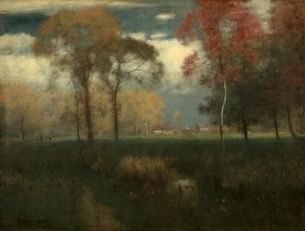 Sunny Autumn Day, 1892 by George Inness