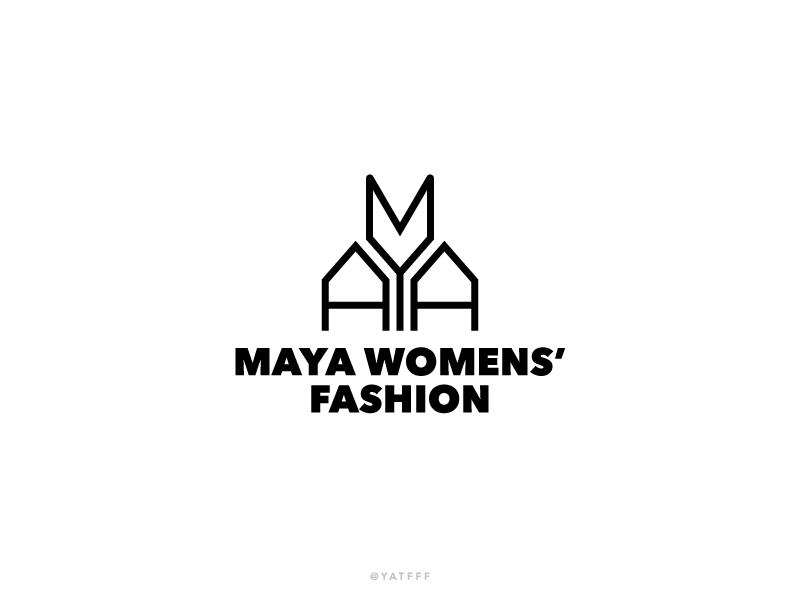 Maya Logo Logo Mark Logos Logo Design