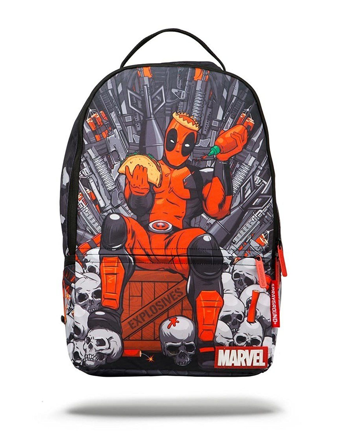 fbecf31e102 Sprayground Deadpool's Throne of Hot Sauce Backpack * More info could be  found at the image url.
