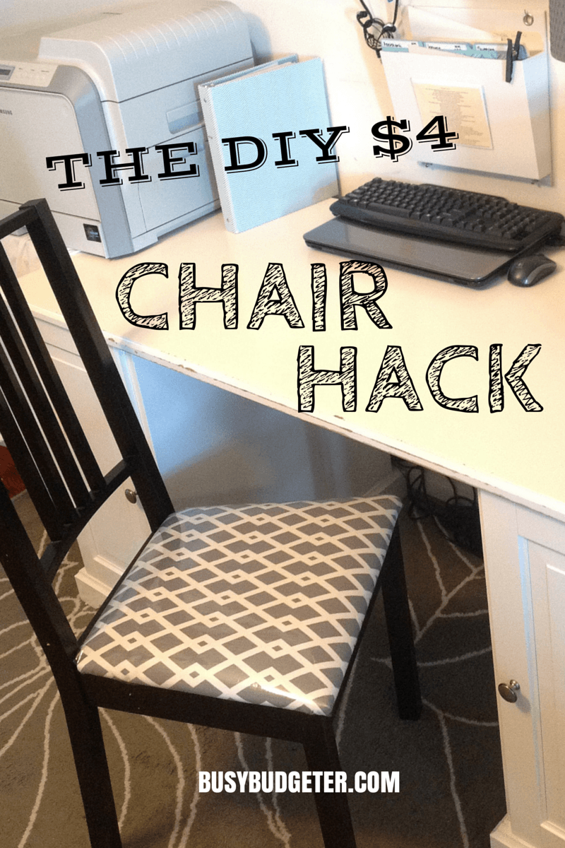 4 Diy Chair Makeover In 15 Minutes