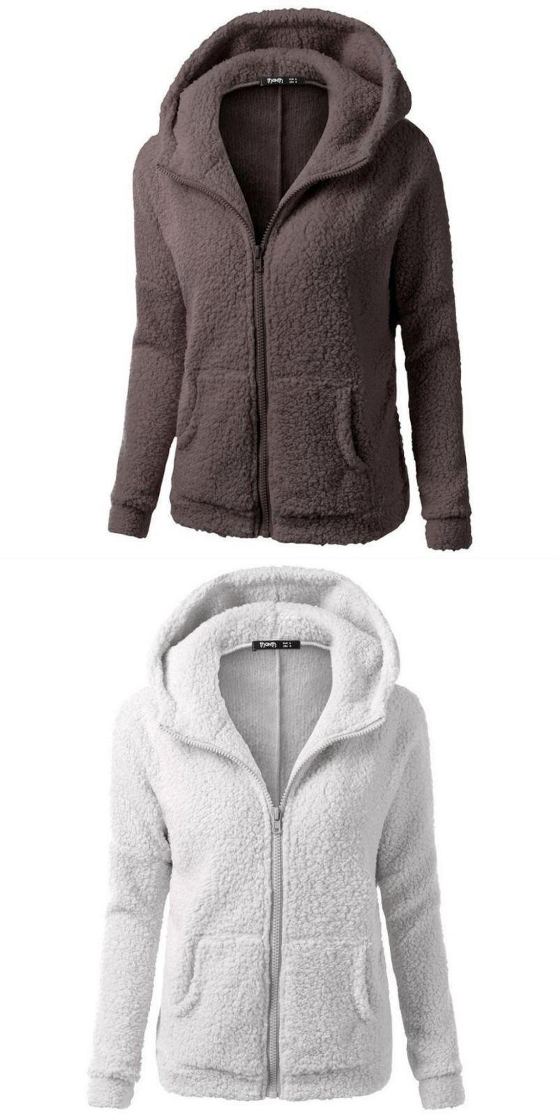 2c1b4b380a55 Outerwear   coats jackets hooded sweater coat winter warm wool zipper  cotton outwear coats and jackets women 2018jul30  women  outerwear     coats   jackets ...
