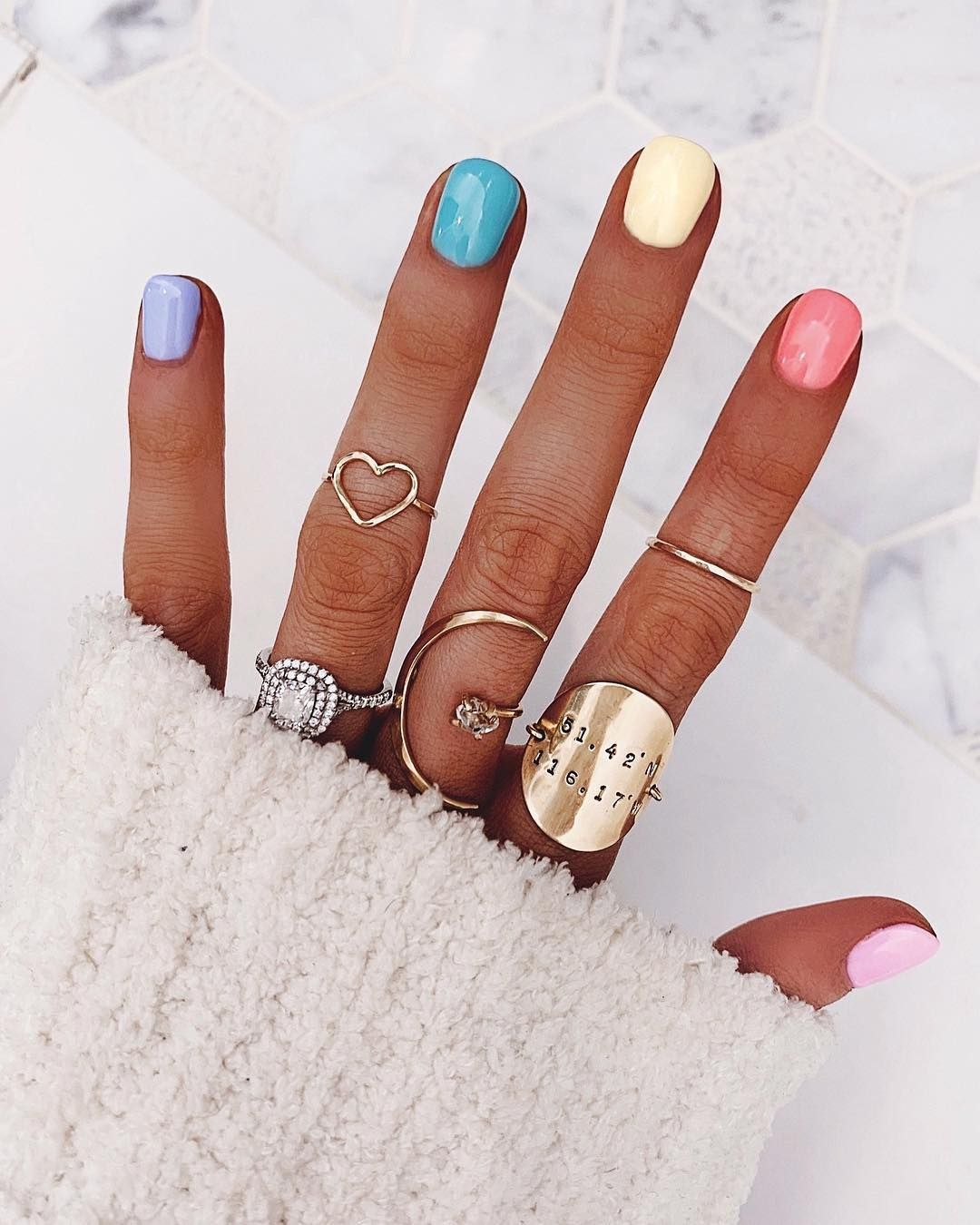 The buzziest nail polish trend on Instagram has lasted two full seasons, and it'…