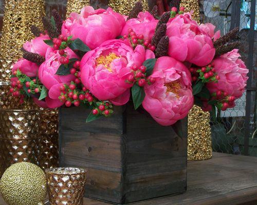 Peonies from Empty Vase Florist, LA