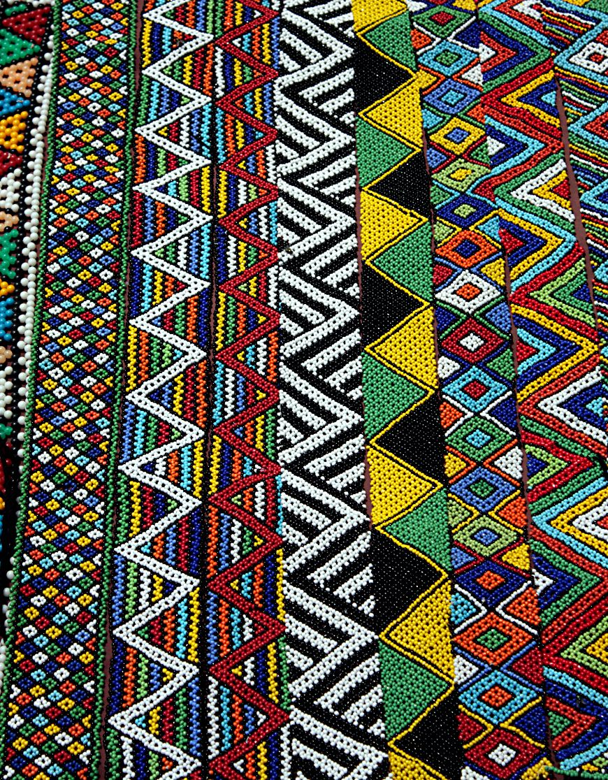 Beaded Sashes Durban South Africa Photo Clive Reid Bead Work